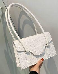 Атрактивна дамска чанта в бяло - код B350