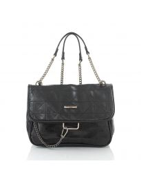 Дамска чанта в черно - код JY - 6529