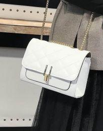 Атрактивна дамска чанта в бяло - код B330