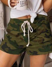 Къси панталонки в камуфлажен десен - код 0251 - 1