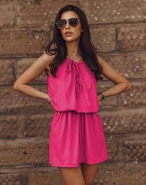 Ежедневна рокля в циклама - код 8399