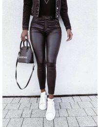 Дамски клин в черно - код 9962