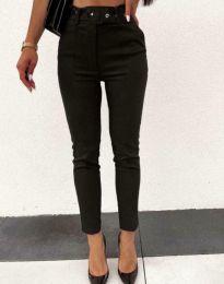 Дамски панталон в черно - код 9059