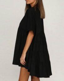 Свободна рокля в черно - код 6464