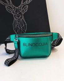 Дамска чанта в зелено - код B291