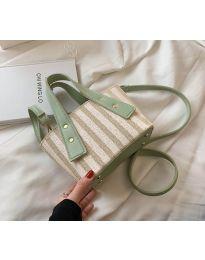 Атрактивна дамска чанта в цвят мента - код B530