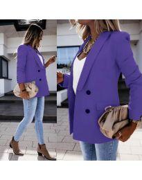 Елегантно дамско сако в лилаво - код 949