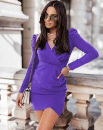 Дамска рокля в лилаво - код 0951