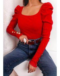Дамска блуза в червено - код 11517