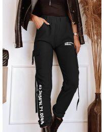Дамски панталон в черно - код 1142