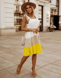 Свободна дамска рокля - код 2810 - 4