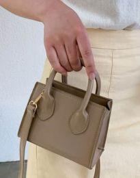 Дамска чанта в цвят капучино - код B421