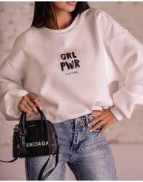 Дамска блуза в бяло - код 0399