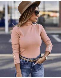Дамска блуза в розово - код 7971