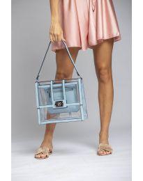 Дамска чанта в синьо - код LS543