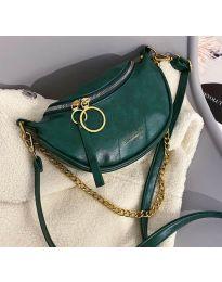 Дамска чанта в зелено - код B139