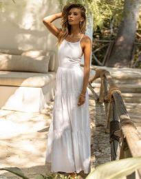 Феерична рокля в бяло - код 2991