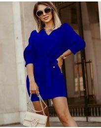Дамска рокля в синьо - код 9876