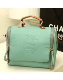 Дамска чанта в цвят мента - код B136