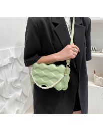 Елегантна дамска чанта в цвят мента - код B503