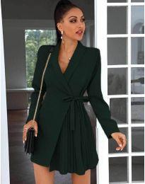 Елегантна рокля в черно - код 0333