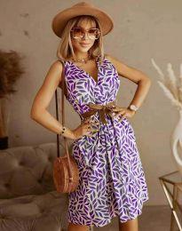 Атрактивна дамска рокля - код 5488 - 4