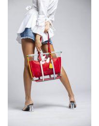 Дамска чанта в червено - код LS542