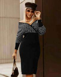 Стилна дамска рокля - код 8296 - 4