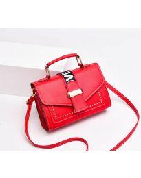 Дамска чанта в червено - код B104
