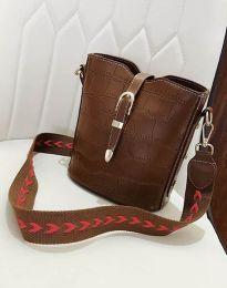 Дамска чанта в кафяво - код B295