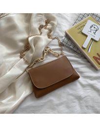 Дамска чанта в кафяво - код B41