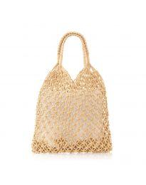 Дамска чанта в цвят капучино - код CF009-25