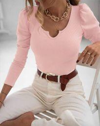 Дамска блуза в розово - код 11493