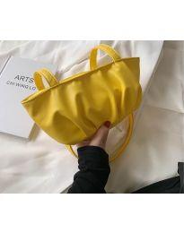 Дамска чанта в жълто - код B526