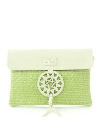 Дамска чанта в зелено - код OY-1202