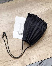 Ефектна дамска чанта в черно - код B521