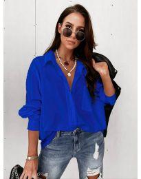 Дамска риза в синьо - код 8304