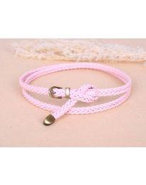 Дамски колан в розово - код P11