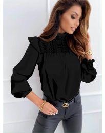 Дамска блуза в черно - код 6202