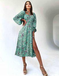 Елегантна дамска рокля - код - 1752 - 7