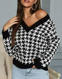 Атрактивна дамска блуза  - код 7102