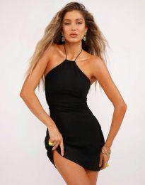 Къса секси рокля в черно - код 0415
