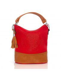 Дамска чанта в червено - код H8002