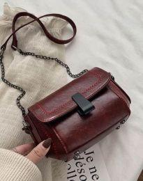 Дамска чанта в цвят бордо - код B415