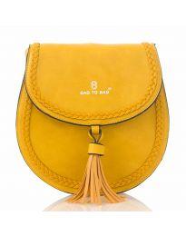 Дамска чанта в жълто - код HS - 88016