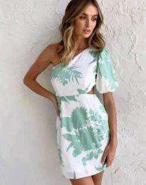Атрактивна рокля с едно рамо - код 4650 - 5
