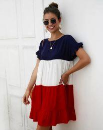 Свободна дамска рокля - код 1039 - 1