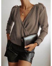 Дамска блуза в капучино - код 294