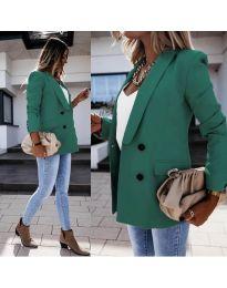 Елегантно дамско сако в зелено - код 949