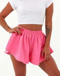 Атрактивни къси панталони в розово - код 11979